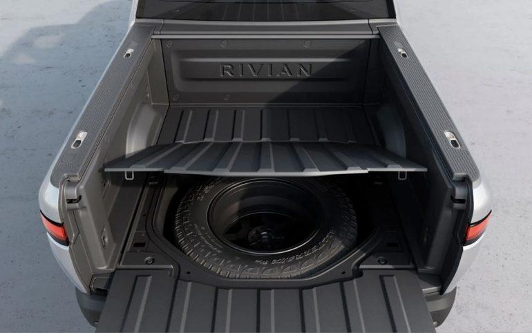 rivian r1t truck bed