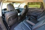 2021 hyundai santa fe hybrid limited interior rear