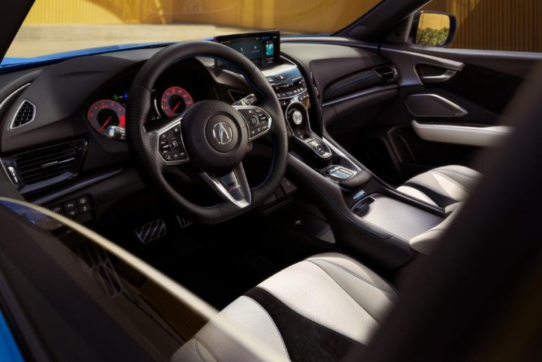 2022 acura rdx pcm edition interior