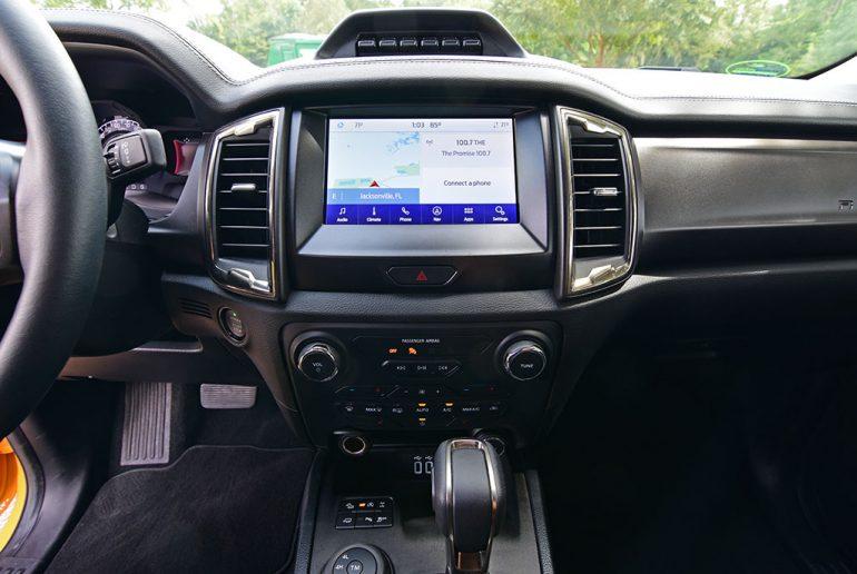 2021 ford ranger tremor touchscreen
