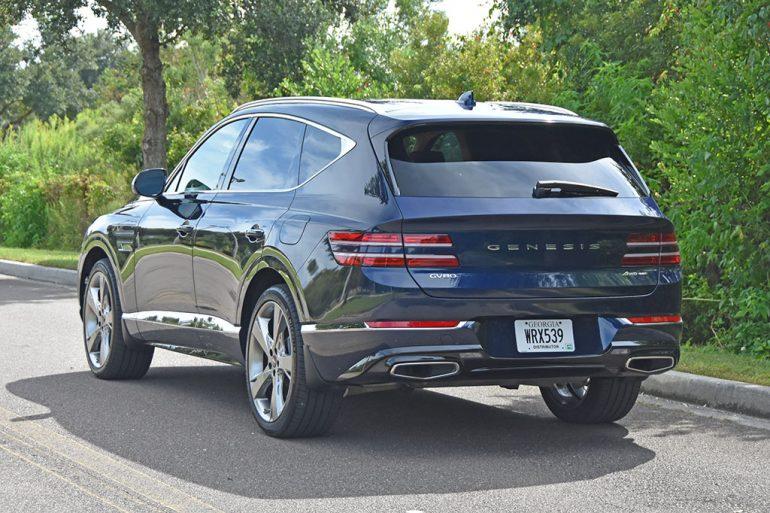 2021 genesis gv80 awd 3.5t prestige rear